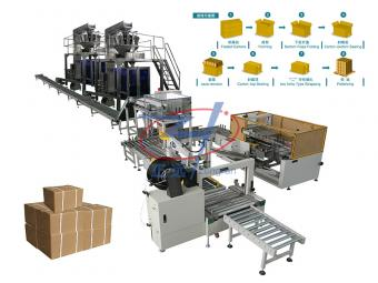 case packing machine customized