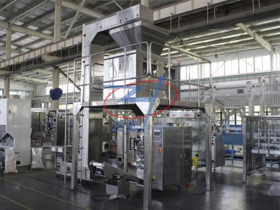 Vertical Form Fill Seal bagging machine